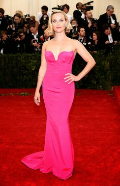 Nikole DeBell Beauty: Favorite Looks From The MET Gala 2014 Reese Witherspoon Stella McCartney