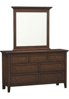 Havertys - Ashebrooke Dresser with Mirror