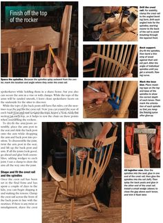 Windsor Rocking Chair Plans - Furniture Plans and Projects - Woodwork, Woodworking, Woodworking Plans, Woodworking Projects Rocking Chair Plans, Rocking Chairs, Woodworking Plans, Woodworking Projects, Love Chair, Got Wood, Furniture Plans, It Is Finished, How To Plan