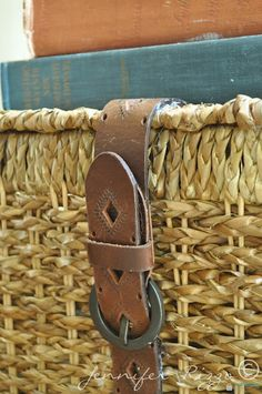 here's what you can do with that old belt that you love so much!