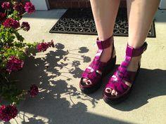 Dr. Martens 'Bessie' Platform Wedge Sandal in Depop