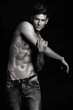 In fact he's GREAT at stretching his muscles. | Meet Hideo Muraoka, Your New Favorite Male Model