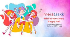 Let the vibrant colors of Holi fill your life with lots of happiness and love! Local Delivery Service, E Day, Happy Holi, Gift Store, Fill, Vibrant Colors, Happiness, Gifts, Presents