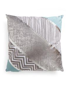 20x20+Modern+Block+Reversible+Pillow