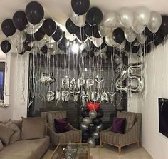 Birthday Party Decorations For Adults Men Decor Best Ide.- Birthday Party Decorations For Adults Men Decor Best Ideas Birthday Party Decorations For Adults Men Decor Best Ideas - Birthday Surprises For Him, Birthday Surprise Boyfriend, 25th Birthday Ideas For Him, Boyfriends 21st Birthday, Suprise For Boyfriend, Adult Birthday Party, Man Birthday, Birthday Room Surprise, Happy Birthday