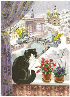 Postcard Wish List - Cats in Art - Jocelyn Cuckootree - Picasa Web Albums