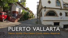 Calles de Puerto Vallarta 07/12/2019 Street of Downtown Puerto Vallarta,... Puerto Vallarta, Destin Beach, Beautiful Beaches, Places To Visit, Tours, World, City Streets, Tents, The World