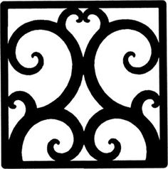 Solid wrought iron square wall art crafted out of solid wrought iron in central New York. Add a touch of old world style to your home with this solid piece of artistic splendor. Wall art style 208 measures 11 W x 11 H and weighs four pounds. Wrought Iron Wall Decor, Wrought Iron Gates, Metal Wall Decor, Home Wall Decor, Contemporary Metal Wall Art, Wall Art Crafts, Wall Decor Design, Metal Tree Wall Art, Metal Walls