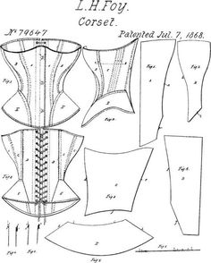 Most current Pictures sewing tutorials corset Strategies Elegant Image of Corset Sewing Pattern Corset Sewing Pattern Pin Danyale On Artsy Fartsy Ideas Corset Sewing Pattern, Pattern Drafting, Sewing Patterns Free, Sewing Tutorials, Clothing Patterns, Barbie Sewing Patterns, Bra Pattern, Diy Clothing, Sewing Clothes