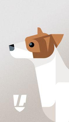 "Mais coisas lindas do Josh Brill of ""Lumadessa"" - mobile phone wallpaper Jack Russell Terrier"