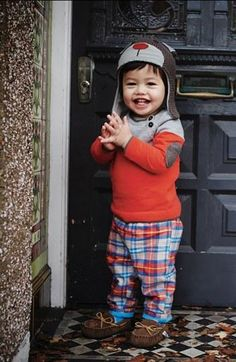 Little man plaid.