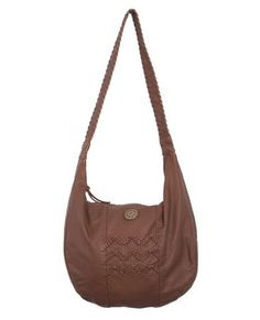 ABIGALE SHOULDER BAG // brown -  Slouchy shoulder bag with braided zig zag trim. Alana Blanchard, Rip Curl, Head To Toe, Nice Things, Zig Zag, Style Fashion, Surf, Fashion Accessories, Cute Outfits