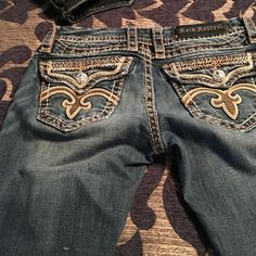 Rock Revival pants Like new but I gained weight Rock Revival Jeans Boot Cut