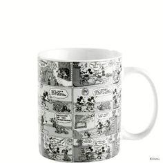 DISNEY Tasse Mickey Comic schwarz/weiß - DISNEY