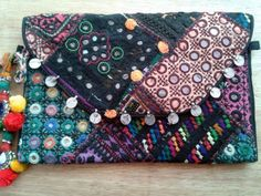 Banjara Patchwork Clutch Bag iii