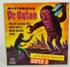 The Mysterious Dr. Satan Super 8mm film