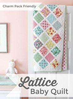 Baby Lattice Quilt PDF