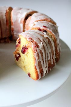 Orange Cranberry Bundt Cake - Oh Sweet Day!