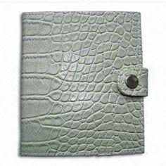 Leather Bound Notebook Organizer