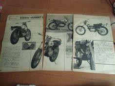 1968 Yamaha DT1 New Sale Article JP Magazine Japan | eBay