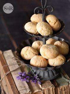 AMARETTI DI SASSELLO (Liguria) are made with sweet and bitter almonds