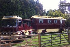 Molly The Showmans Caravan in Magham Down