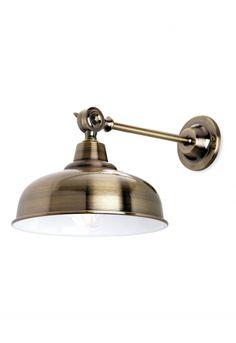 NEW Brass Angle Wall Light - Wall Lighting - Lighting