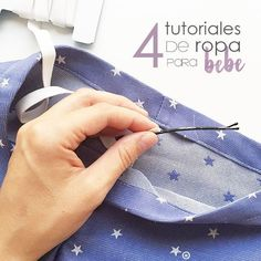 4 summer baby clothes tutorials Do it yourself! Baby Clothes Patterns, Baby Knitting Patterns, Sewing Patterns Free, Baby Patterns, Sewing Tutorials, Clothing Patterns, Sewing For Kids, Baby Sewing, Baby On The Way