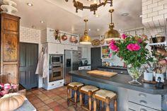 Doug Dolezal designed kitchen in Rancho Santa Fe