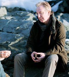 """2006 --❤️Alan Rickman❤️ —  Alan Rickman in """"Snow Cake"""""""