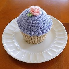 Cute Crocheted cupcake