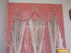 This is a unique curtain  you don't always see at peoples houses. The color is very summery and would be great for a little girl's room.