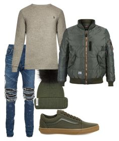 Untitled #3552 by styledbycharlieb on Polyvore featuring polyvore Polo Ralph Lauren AMIRI Magic Stick Bobbl Vans men's fashion menswear clothing