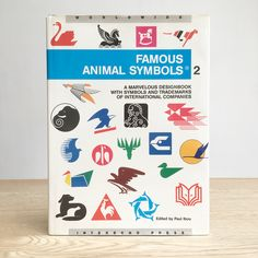 Recently picked up this beauty - Famous Animal Symbols, Volume 2 by the wonderful Paul Ibou . It's packed full of amazing full colour examples. Anyone out there have a copy of volume 1?