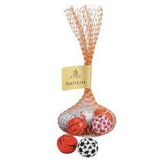 #Chocolate #SportBalls in #MeshBag (5 pcs.) #BarMitzvah #BatMitzvah #PartyFavor #Event #Giveaway #Sweet #PartyFavor