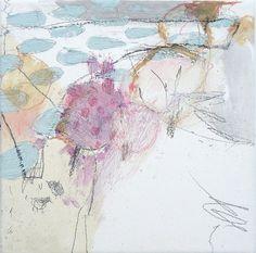 Mayako Nakamura Jyugatsu no kumofuru (October clouds fall), 2009, mixed media on canvas