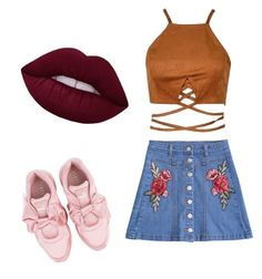 """COOL"" by wikttoria on Polyvore featuring moda i Puma"