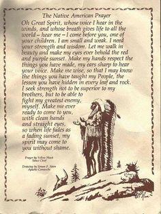 Spiritual Indian Sayings, Native Spirit. Native American quotes to feed the spirit. Native American Prayers, Native American Spirituality, Native American Wisdom, Native American History, American Indians, American Symbols, Cree Indians, Native American Church, Native American Heritage Month