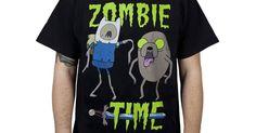 Zombie Adventure Time Shirt