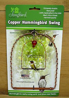 "<span class=""imwb_ccx_keyword"" data-ad-num=""8"">COPPER</span> HUMMINGBIRD SWING Brown Finish Manufactured by Songbird Essentials Made in the <span class=""imwb_ccx_keyword"" data-ad-num=""4"">USA</span> New in box ready to ship. Built to last: Constructed of copper Features: All you need to do is place the swing near a feeder or nectar-rich flowering plant and hummingbirds will use the swing as a territorial perch to <span class=""imwb_ccx_keyword"" data-ad-num=""12"">watch</span> over […]"