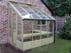 lean to images | Swallow Dove 8×6 Lean to Greenhouse