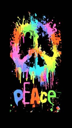 Rainbow peace sign color pop - ☮k☮ Peace Poster, Peace Sign Art, Peace Signs, Hippie Peace, Hippie Love, Hippie Chick, Hippie Things, Boho Hippie, Peace On Earth