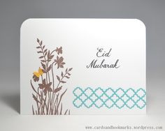 Eid card and a few more inside
