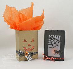 Halloween Treat Bags - MFT August Teaesr, Day Three