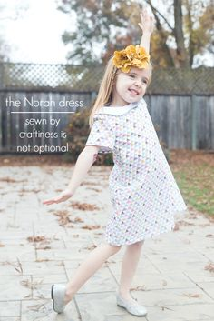 Petiet Street dress by Jess of Craftiness is not  optional .