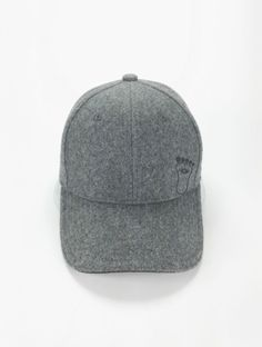 Front View of the flexfit baseball cap in 60% wool