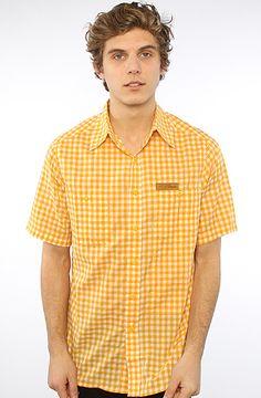 The SS Plaid Buttondown Shirt in ButterscotchOrange S|M|L|XXL|XXXL