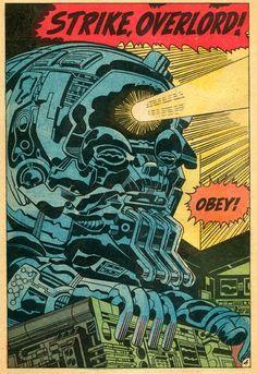 Cap'n's Comics: Ghost in the Machine by Jack Kirby
