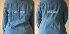 Simple Alteration=Big Change for a Denim Coat | eHow Crafts | eHow