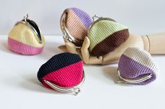 Crochet Coin Purse with Kiss Clasp Frame